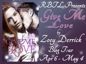 Give Me Love Blog Tour Banner