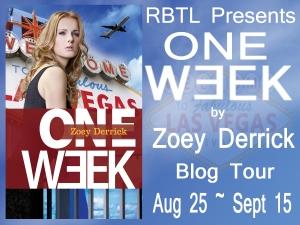 One Week Blog Tour Banner