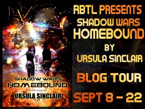 Shadow Wars Homebound Blog Tour Banner