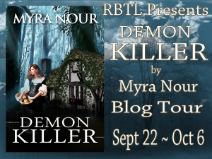 Demon Killer Blog Tour Banner