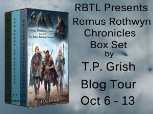 Remus Rothwyn Chronicles Box Set Blog Tour Banner