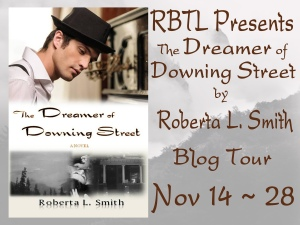 The Dreamer of Downing Street Blog Tour Bannr