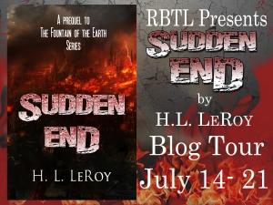 Sudden End Blog Tour Banner