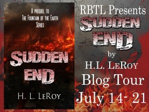 Sudden End Blog Tour Banner